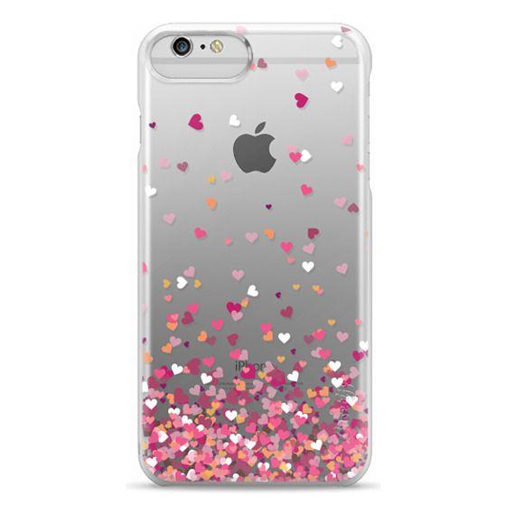 iPhone 6 Plus Cases - Confetti Hearts