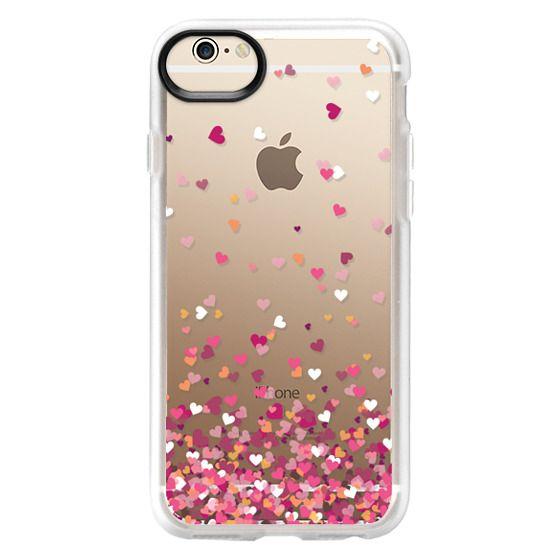 iPhone 6 Cases - Confetti Hearts