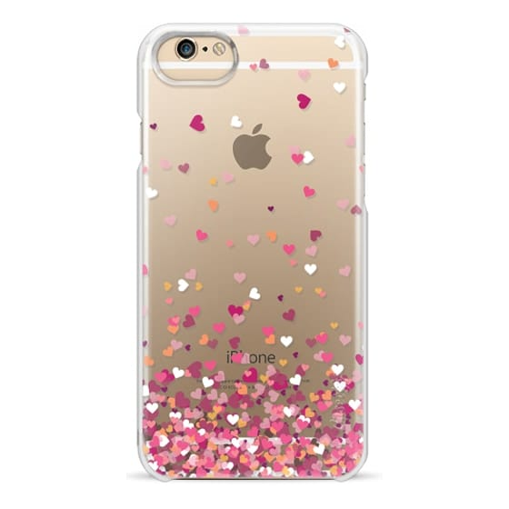 iPhone 6 Cases - Confetti Hearts