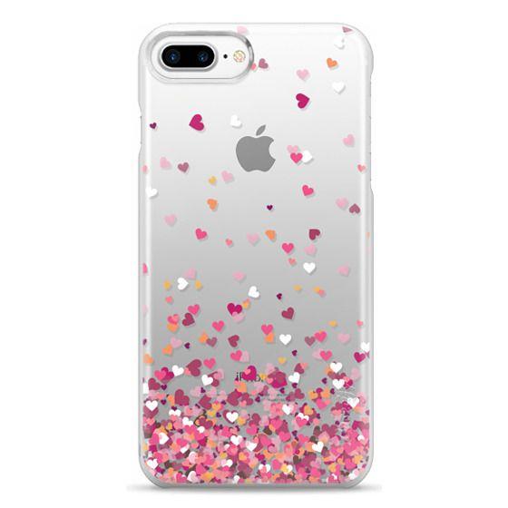 iPhone 7 Plus Cases - Confetti Hearts