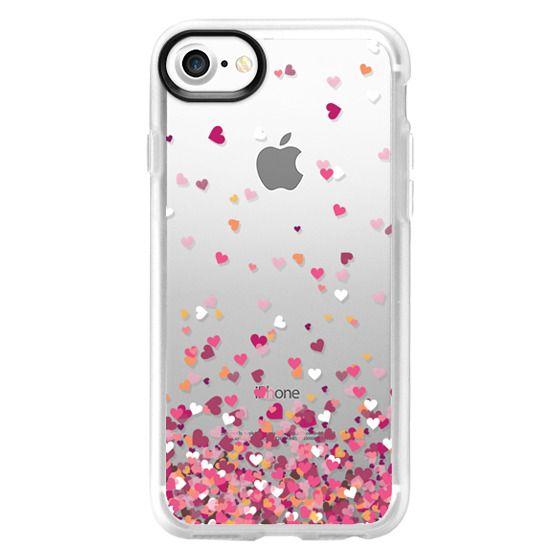 iPhone 7 Cases - Confetti Hearts