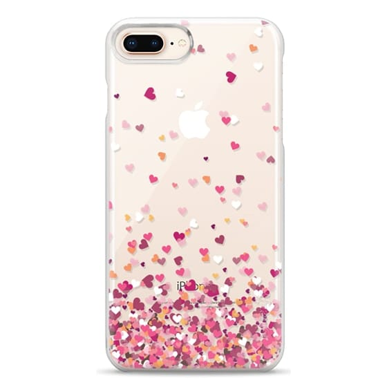 iPhone 8 Plus Cases - Confetti Hearts
