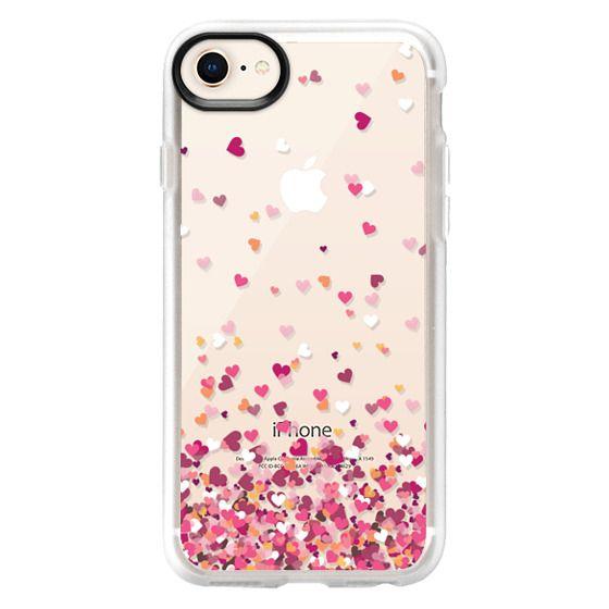 iPhone 8 Cases - Confetti Hearts
