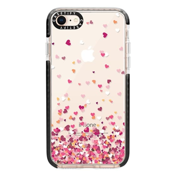 iPhone 8 Cases - Confetti Hearts