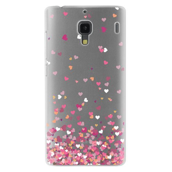 Redmi 1s Cases - Confetti Hearts