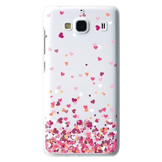 Redmi 2 Cases - Confetti Hearts