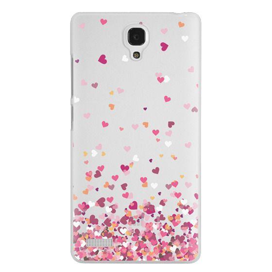 Redmi Note Cases - Confetti Hearts
