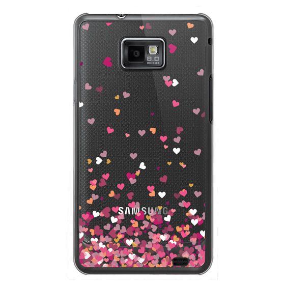 Samsung Galaxy S2 Cases - Confetti Hearts