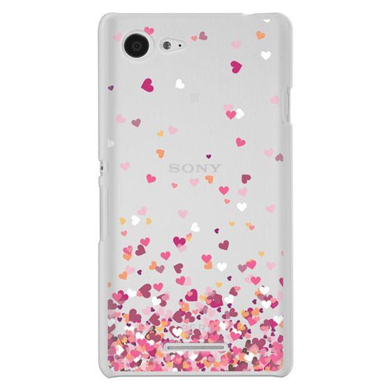 Sony E3 Cases - Confetti Hearts