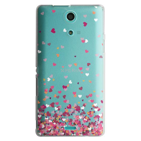 Sony Zr Cases - Confetti Hearts