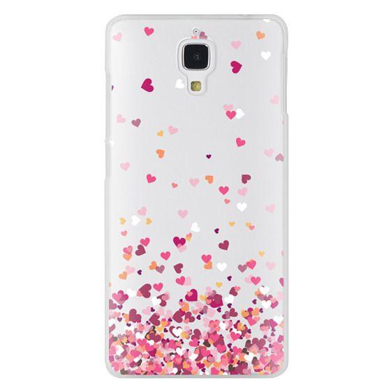 Xiaomi 4 Cases - Confetti Hearts