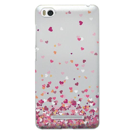 Xiaomi 4i Cases - Confetti Hearts