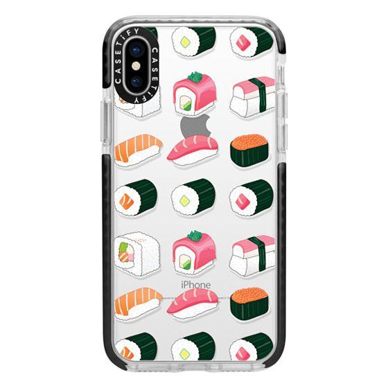 iPhone X Cases - Delicious Sushi