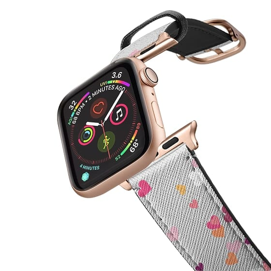 Apple Watch 38mm Bands - Confetti Hearts