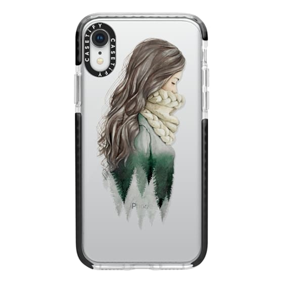 iPhone XR Cases - Forest girl- indie hipster ethno earth woods travel wanderlust