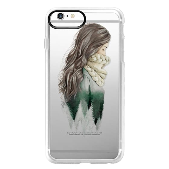 iPhone 6 Plus Cases - Forest girl- indie hipster ethno earth woods travel wanderlust