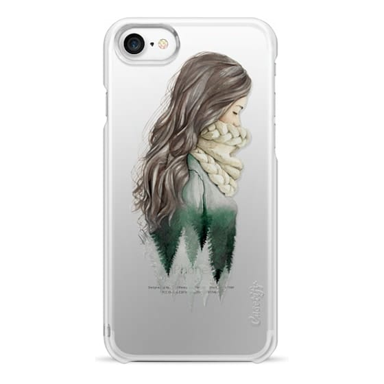 iPhone 7 Cases - Forest girl- indie hipster ethno earth woods travel wanderlust