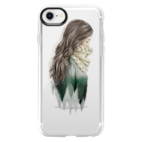 iPhone 8 Cases - Forest girl- indie hipster ethno earth woods travel wanderlust