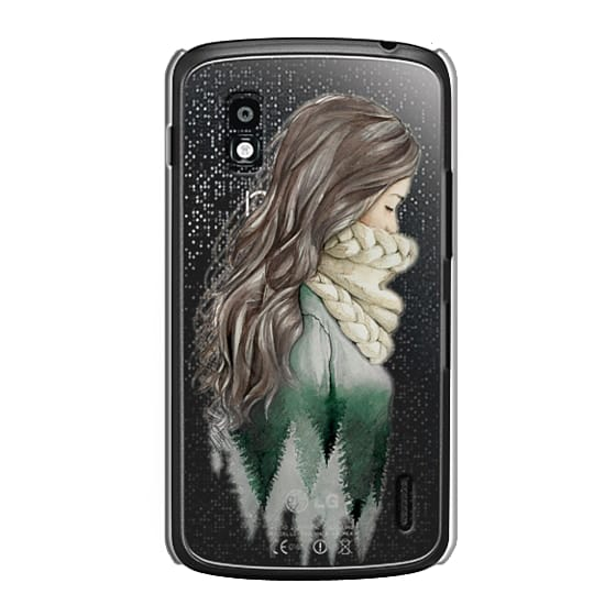 Nexus 4 Cases - Forest girl- indie hipster ethno earth woods travel wanderlust