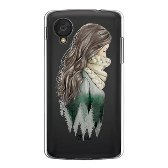 Nexus 5 Cases - Forest girl- indie hipster ethno earth woods travel wanderlust