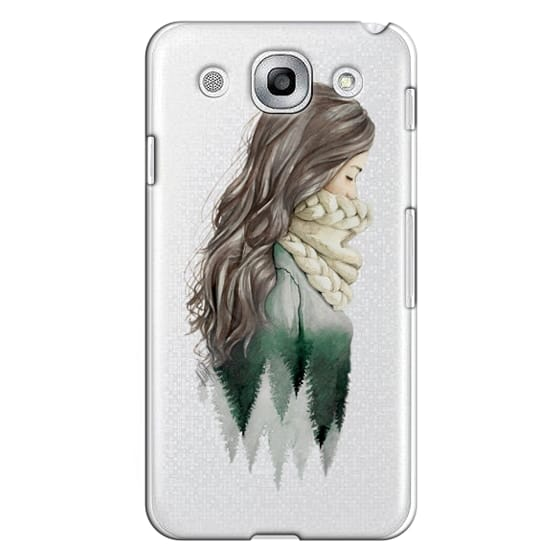 Optimus G Pro Cases - Forest girl- indie hipster ethno earth woods travel wanderlust