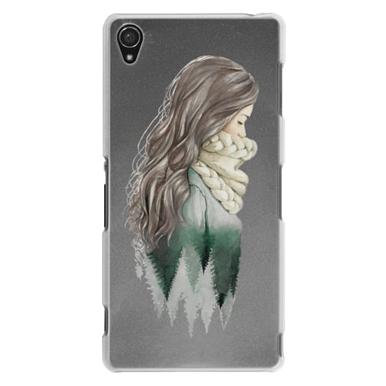 Sony Z3 Cases - Forest girl- indie hipster ethno earth woods travel wanderlust