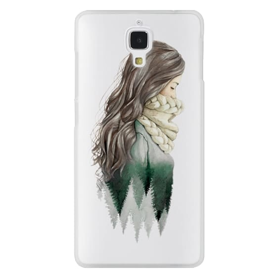 Xiaomi 4 Cases - Forest girl- indie hipster ethno earth woods travel wanderlust