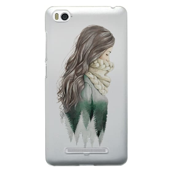 Xiaomi 4i Cases - Forest girl- indie hipster ethno earth woods travel wanderlust