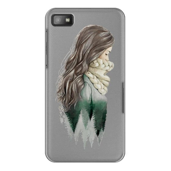 Blackberry Z10 Cases - Forest girl- indie hipster ethno earth woods travel wanderlust