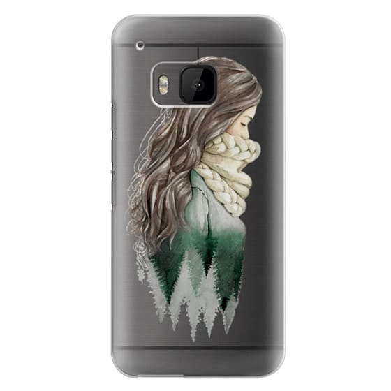 Htc One M9 Cases - Forest girl- indie hipster ethno earth woods travel wanderlust