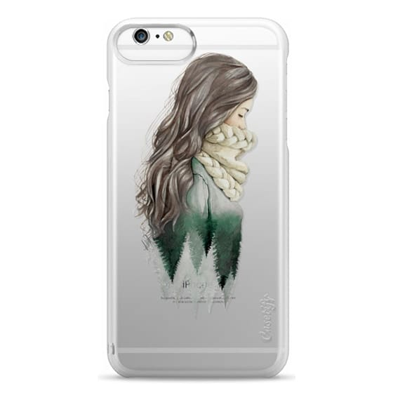 iPhone 6s Plus Cases - Forest girl- indie hipster ethno earth woods travel wanderlust