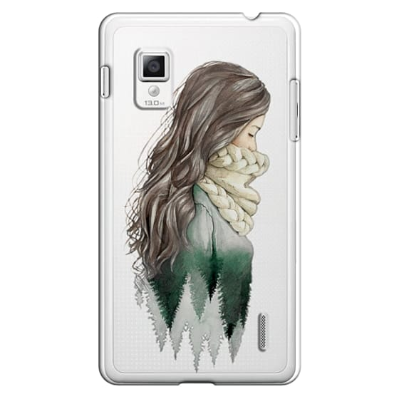 Optimus G Cases - Forest girl- indie hipster ethno earth woods travel wanderlust