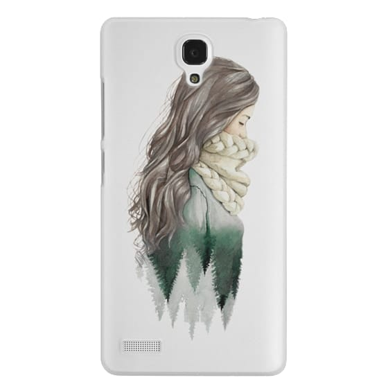 Redmi Note Cases - Forest girl- indie hipster ethno earth woods travel wanderlust