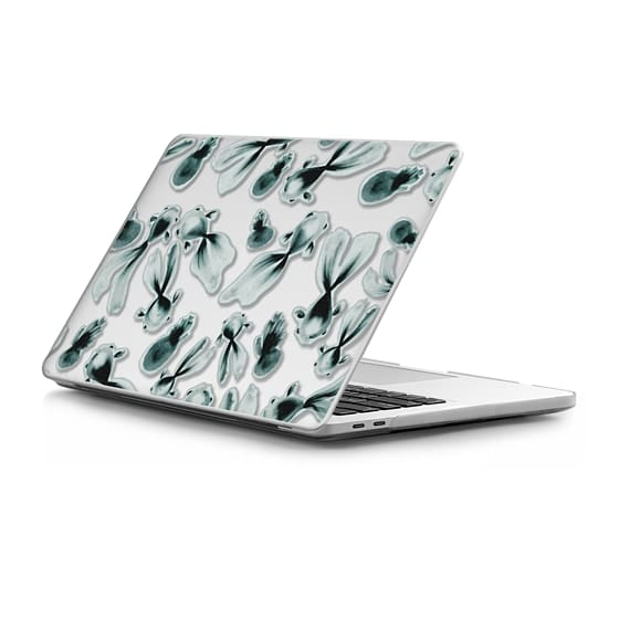 MacBook Pro Touchbar 13 Sleeves - monotone fish laptop cover