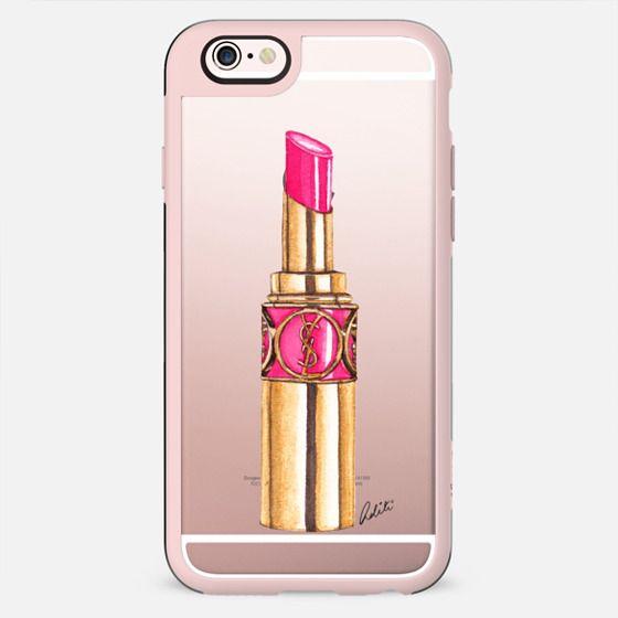 Pink Lipstick Transparent - New Standard Case
