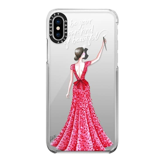 iPhone X Cases - Hello Beautiful Quote Transparent