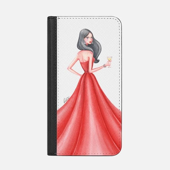 Glamour Girl Red Transparent