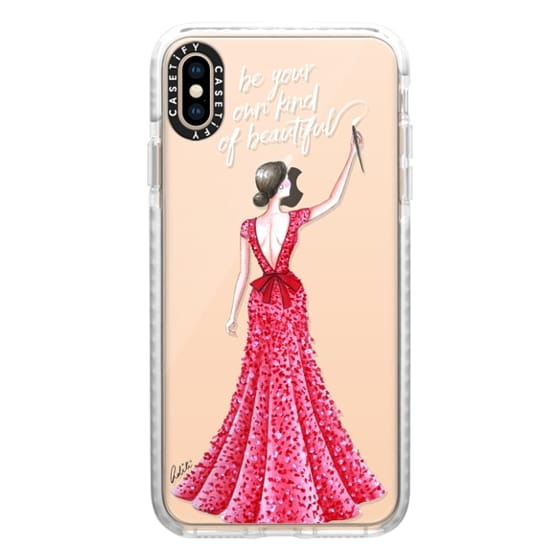 iPhone XS Max Cases - Hello Beautiful Quote Transparent
