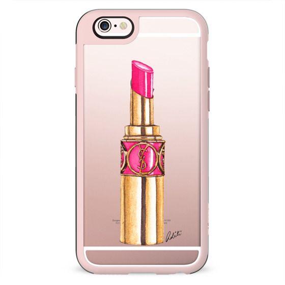 Pink Lipstick Transparent