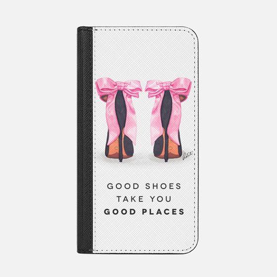 Bow Pink Shoes Black Quote Transparent