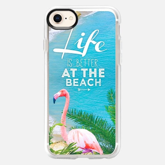 Life is better at the beach - Snap Case