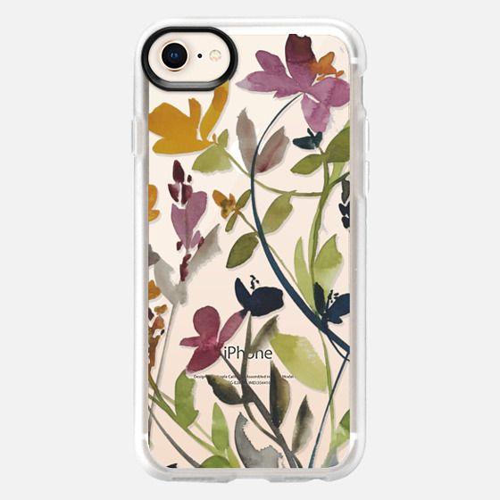 watercolor fields no-1 - Snap Case
