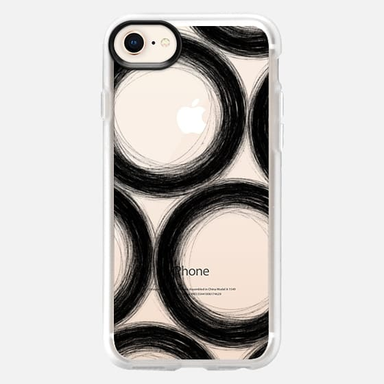 Abstract02_Black - Snap Case