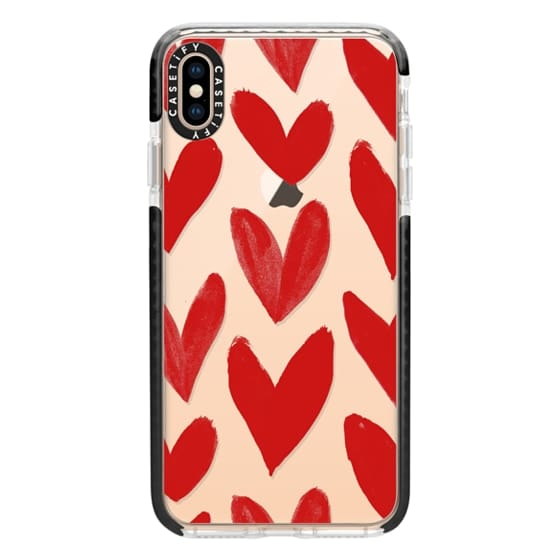 best website d4ea6 0636a Impact iPhone XS Max Case - Red Hearts