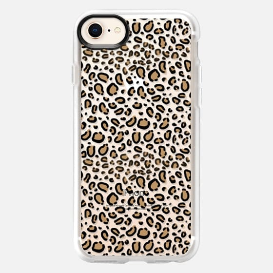 Transparent Cheetah animal print cell phone case - Snap Case