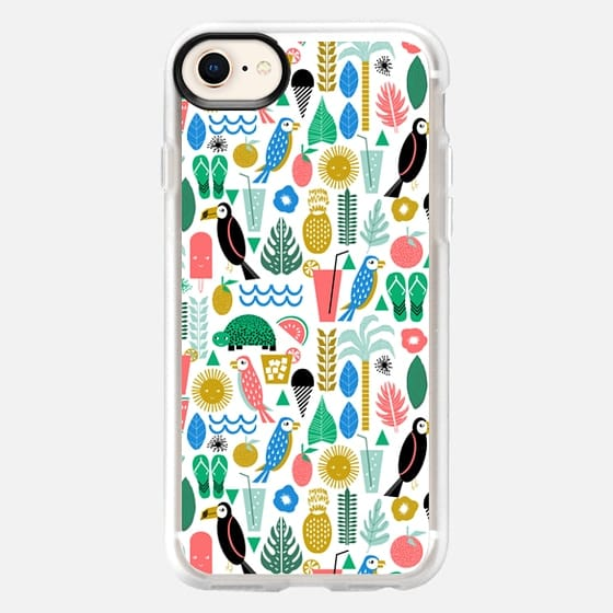 Tropical summer vacation cell phone case accessory island hawaii beach life - Snap Case
