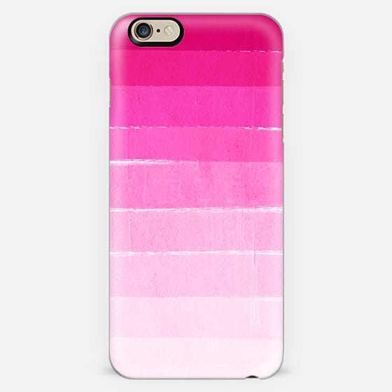 ombre pink painting painterly brushstroke hot pink magenta pink girly trend -