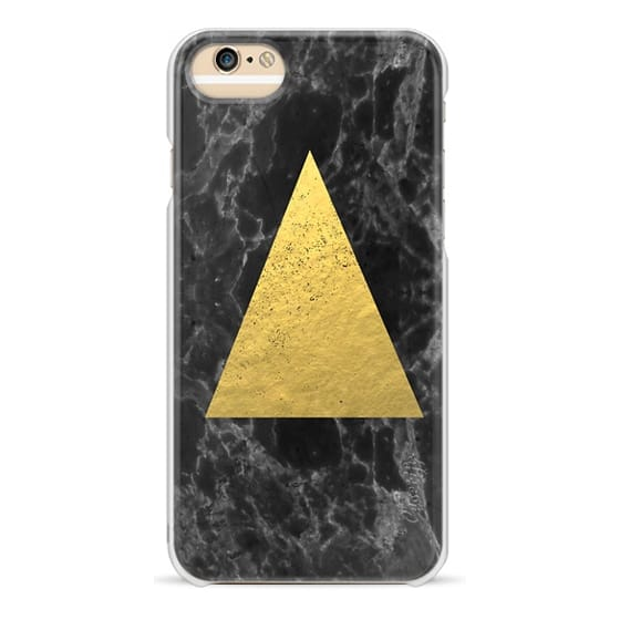 hot sale online 6d1f1 ae87a Classic Grip iPhone 6s Case - Marble Tri black and gold foil cell phone  case for iphone6 glitter foil marble minimal trendy hipster