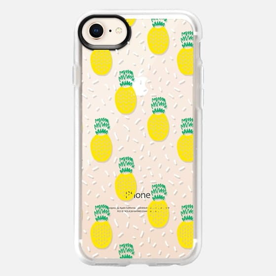 Summer Pineapple - Fruit pattern, design by charlotte winter - Snap Case