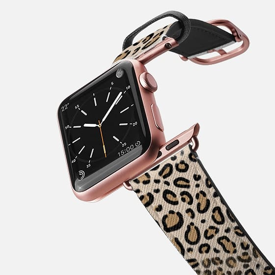 Fashion Accessory For Iphone Watches Leopard Print Pattern Animal Modern